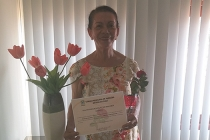 Lourdes Gomes recebe homenagem da Câmara Municipal