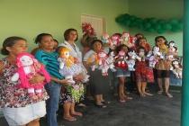 Programa Mesa Brasil Sesc com oficina de geração de renda